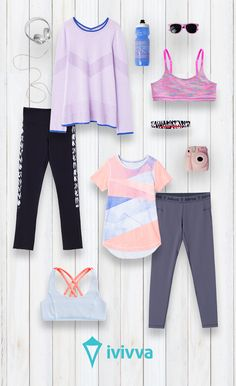 New sport clothes for girls lulu lemon Ideas - Sport ♥ - School Outfits Sporty Outfits, Athletic Outfits, Athletic Wear, Cute Outfits, Athleisure, Dance Outfits, Girl Outfits, Gymnastics Outfits, Sport Wear