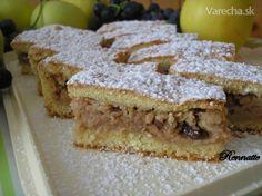 Chválospev na jablká: 10 jablkových koláčov, s ktorými bude jeseň sladká Apple Slices, Coffee Cake, Paleo Recipes, Nutella, Sandwiches, Bakery, Apple Cakes, Homeland, Apples