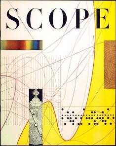 Will Burtin for Scope magazine, Spring 1953