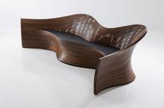 Wood Sofa 3