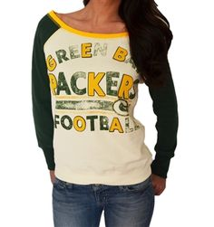 be0352c94 Green Bay Packers boat neck