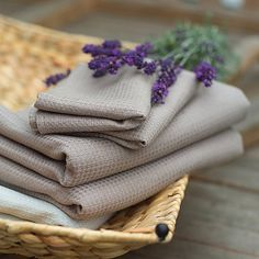 Taupe Linen Bath Towel by LinenbyInga on Etsy, $25.99