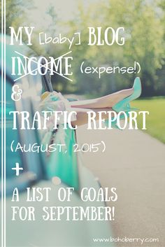 August Income & Traffic Report: Follow along from the very beginning at bohoberry.com
