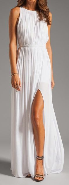 Revolve Clothing White Sen Flaviana Dress