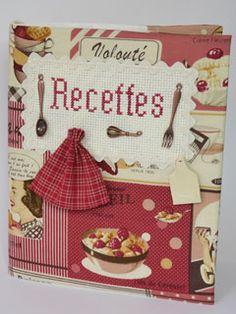 Cahier de recettes vintage