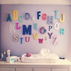 the alphabet wall