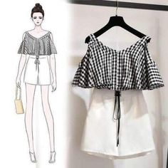 31 Ideas For Fashion Design Sketches Clothing Style - asha goinka Teen Fashion Outfits, Cute Fashion, Look Fashion, Trendy Outfits, Girl Fashion, Cute Outfits, Korean Outfits, Fashion Ideas, Fashion Tips