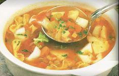 Soup Recipes, Cooking Recipes, Cooking Time, Thai Red Curry, Ethnic Recipes, Food, Vegetarische Rezepte, Cream Soups, Drinks