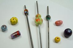 Hot Glass Beadmaking | Funky Hannah's | August 3, 2014
