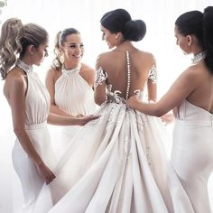 2 people people standing and weddingYou can find Party wear and more on our people people standing and wedding Elegant Bridesmaid Dresses, Wedding Party Dresses, Bridesmaids, Strapless Shirt, Lace Evening Dresses, Dress Silhouette, Casual Wedding, Ivory Wedding, People People