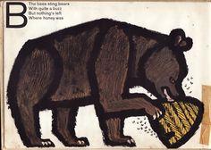 Celestino Piatti's Animal ABC, written & illustrated by Celestino Piatti, 1966.