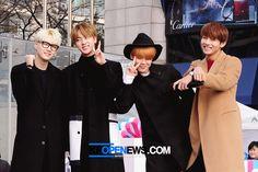 'K-STAR ROAD', 제막식에 참여한 방탄소년단 쩔어 http://kpopenews.com/6929   고화질 보도 사진과 객관적인 기사를 전달하는 K-POP 전문 미디어  #KSTAR로드, #방탄소년단