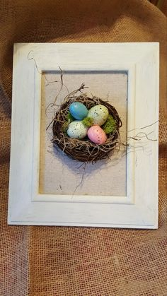 Bird's Nest Picture by RusticFarmDesigns on Etsy