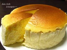手軽に*スフレチーズケーキの画像