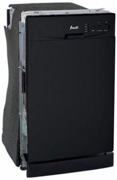 Avanti Model DWE1801B Built-In Dishwasher, Black
