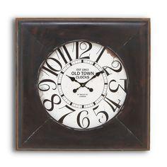 Metal Wall Clock.