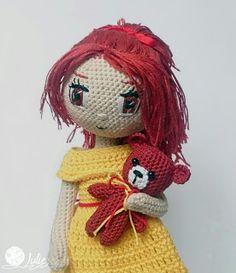 Julie crocheting. Handmade from heart: Женя. Кукла крючком