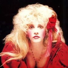 Stevie  ~ ☆♥❤♥☆ ~    stunning in red ~ photo taken from her  song 'Rooms On Fire' which is on her 1989 album 'The Other Side of the Mirror'; the song, according to the liner notes of 'Timespace – The Best of Stevie Nicks', was inspired by Stevie's brief relationship with Rupert Hine     ~  https://en.wikipedia.org/wiki/Rooms_on_Fire