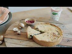 Merel van De Groene Meisjes maakt een heerlijke glutenvrije champignons & preiquiche met het Provamel Plantaardig Alternatief voor Kwark. Ontdek het volledig...