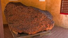 Mandelbaum, Gizmodo - Scientists have detected trace amounts of superconducting material inside one of the world's largest meteorites, according to a new study. Iron Meteorite, Science And Technology, San Diego, Cooking, Scientists, Food, Western Australia, Mail Online, Eten