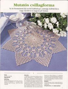 Kira scheme crochet: Scheme crochet no. Crochet Books, Crochet Home, Love Crochet, Thread Crochet, Doily Rug, Lace Doilies, Crochet Doilies, Crochet Borders, Crochet Chart