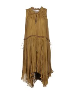 Платье До Колена Для Женщин от Chloé - YOOX Россия