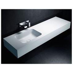 plan de toilette en corian arco by antonio lupi design design nevio tellatin salle de bain. Black Bedroom Furniture Sets. Home Design Ideas