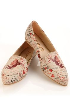 Elite Goby Cupid Flats in Multicolor - Beyond the Rack $54.99