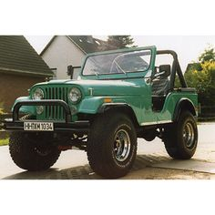 So pretty. So so pretty. '78 CJ 5 V8