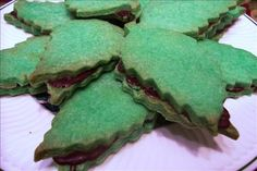 Holiday Bakery Tray Cookies from Food.com: Basic recipe for the gourmet bakery tray cookies you see wrapped in colored cellophane in bakeries at holiday time