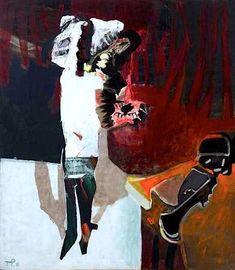 Teresa Pagowska, 1988 Rachel Whiteread, Thing 1, Outsider Art, Artist At Work, Mixed Media Art, Face And Body, Art Gallery, Paintings, Fantasy
