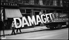 """Damaged"", New York City Retronaut 
