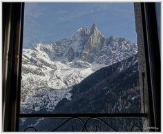 Fenêtre hivernale Le Dru la Verte Les Praz de Chamonix - Winter Windows - Photo : Thierry LTH - Vercors - France -