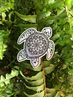 Excited to share this item from my shop: Sea Turtle Sticker - Metallic Vinyl - Bumper Sticker - Mandala - Weatherproof - Waterproof - Phone - Car Window - Water Bottle Tribal Turtle Tattoos, Turtle Tattoo Designs, Body Art Tattoos, Sleeve Tattoos, Tatoos, Waterproof Stickers, Waterproof Phone, Mandala Turtle, Mandala Tattoo Design