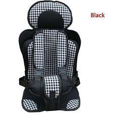 WXLAA Car Seat Safety Baby Convertible Booster Chair (S Size). Used to protect your baby when driving, more safe and comfortable. Sandwich fabric can be durable and easy to clean, environmentally friendly and non-toxic. Suitable for most of cars. Easy to install, fix the two fixation bands onto the car seat, close the buckle and adjust the waist band and shoulder band according to your baby body shape. Space saving and easy to carrying with.