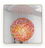 gummy bear chandelier (: