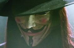 V for Vendetta.  I really do love this movie!
