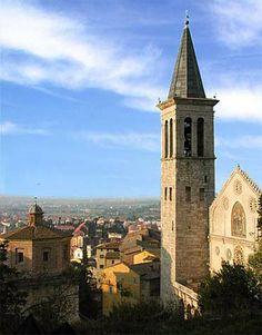 Italy Travel Guide: Umbria's Spoleto and its Duomo of Santa Maria dell'Assunta