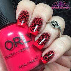 This is @orlynails Window Shopping from the Melrose Collection stamped using the new Dazed and Enthused stamping plate by @delushpolish. Other items used: @mdjcreations Sexy Cuticles Nail Tape @cosette.nail.shop Clear Jelly Stamper #MdU Black  #nailpolish #nails #polishaddict #nailblogger #mani #nailsofinstagram #polishaholic #nailaccount #prettynails #nailsoftheday #instanails #nailart #nailpromote #featuremynails #cutenails #nails2inspire #motd #polishandpaws #nailstagram #nailswag…