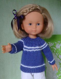 Comme le pull encolure arrondie vous plaisait.. un autre modèle... Voici le tuto : monter 45 mailles tricoter en cote 1/1, 6 rangs continuer en jersey, en tricotant les 3 mailles du début et de fin de rang en cote 1/1 tricoter 3 mailles cote 1/1, 2 mailles,...