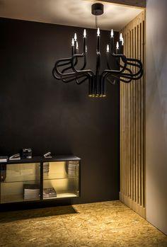 KING GEORGE royal chandelier by TAL. Maison & Objet. Design lighting.