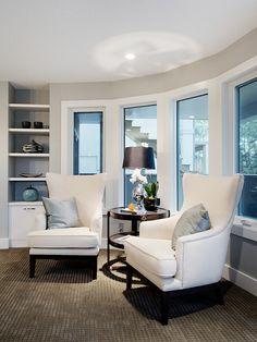 I love, love, love this basement! Aspen Estates Project - contemporary - dining room - calgary - Capstone Custom Homes