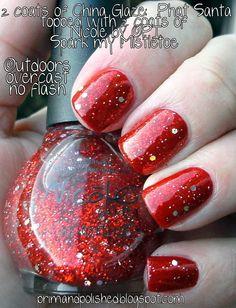 Red Sparkle. #lulusholiday