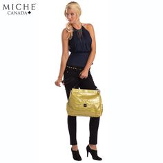 "You are never too old for a fun purse. ""Like"" if you agree! *Miche Canada* #michecanada #michefashion #fashion #style #purses #handbags #accessories"