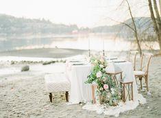 Ruffled - photo by Simply Sweet Photography by Nomo Akisawa http://ruffledblog.com/nordic-beach-wedding-inspiration