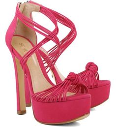 Meia Pata Knotted Rose Pink | Schutz