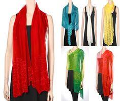 silken evening shawls are amazing