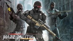 MazeMilitia: LAN Online Multiplayer Shooting Game v1.9 [Mod]   MazeMilitia: LAN Online Multiplayer Shooting Game v1.9 [Mod]Requirements:4.1 and upOverview:Shooting game with intense action multiplayer game! Here we present full-fledged power-packed LAN & online multiplayer shooting game MAZE MILITIA. Combat with real opponents in best action game of 2017.  Play and experience best free action game 2017. Strike with real opponents from all over the world to show your shooting skill in…