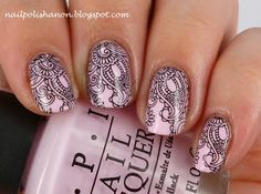 Nail Polish Anon: OPI Mod About You and Water Decal Review