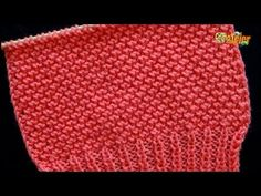 """Cómo Tejer Punto Diseño """"Coral"""" para Suéter-Knit Stitch Pattern, 2 agujas (628) - YouTube Knitting Stitches, Knitting Patterns, Crochet Monokini, Guitar Neck, Training Collar, Crochet Baby, Stitch Patterns, Make It Yourself, Decor"""